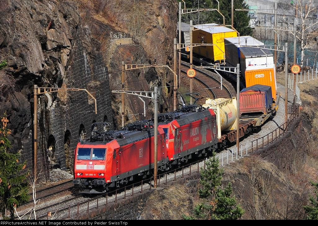 185 099-9  - DB Schenker Rail Germany