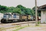 CSX Train Q543