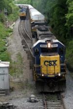 CSX Trains Q576 & Q282