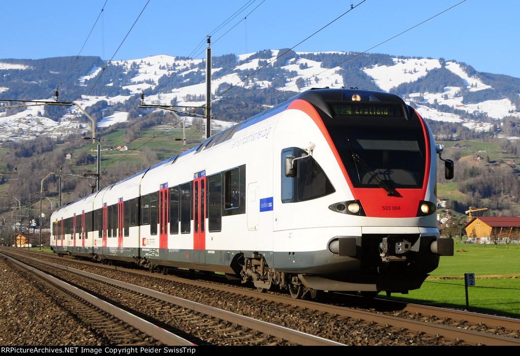 523 004 - SBB Swiss Federal Railways