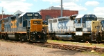 CSX 2717 and 4606