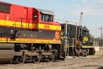KCS 4116 and Gateway Western 2036