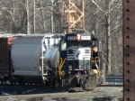 NS 6141 switching in the yard