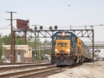 CSX 6116 leads the annual Derby Train into Osborn Yard. CSX's Louisville Terminal Sub. MP 3.9. P907-07.