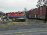 Canadian Pacific 8230 and 7311
