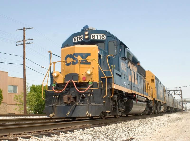 CSX 6116. CSX's Louisville Term. Sub. MP 4.0.