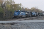 Two conrail and three NS