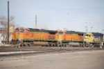 BNSF 4506 Dropped It's Freight Train And Heading For Fuel