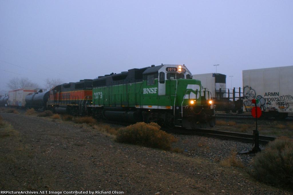 On the Port of Benton/TCRY tracks