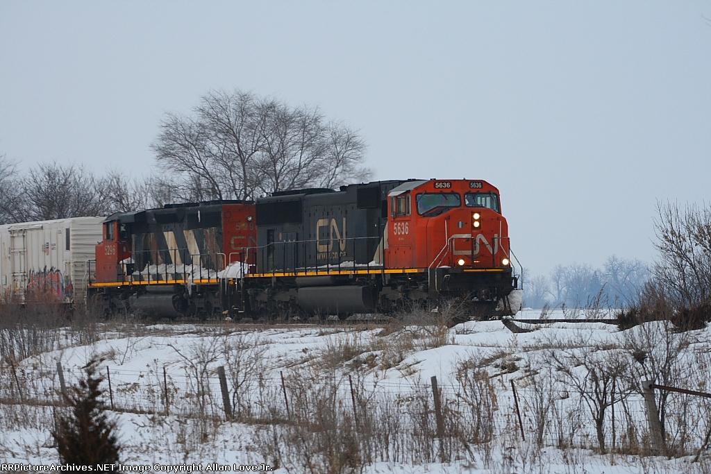 CN 5636 west