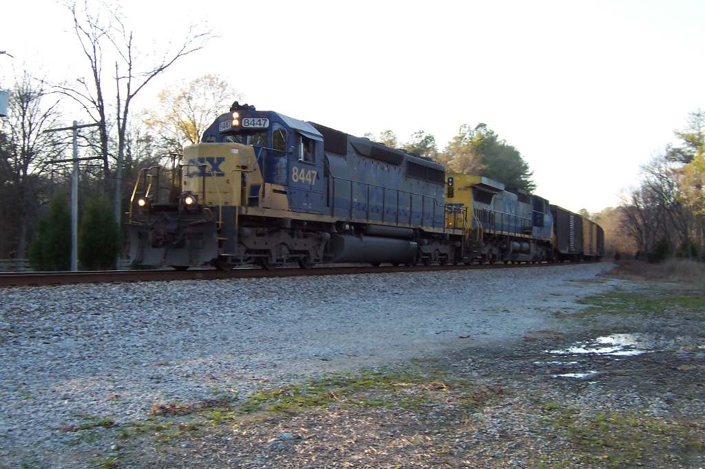 The reroutes strained the C&O crews to the limits.