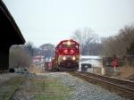 A pair of RJC tunnel motors lead K562 north approaching L&N Depot platform