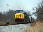 Q275 south passes Gossom siding at track speed