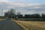 Q574 passing milepost 127
