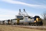 CSX Q534 north arrives at Memphis Jct.