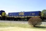 CSX yard slug 1051 on Q275 south