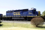CSX 2411 (ex L&N 1264) on Q275 south