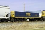 CSX yard slug 1051 on Q534 north 3/7/2010