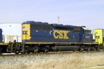 CSX 2411 (ex L&N 1264) on Q534 north