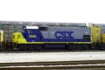 CSX GP 15-1 1540 on Q534 north in the yard at Memphis Jct.