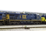 CSX 5387 on Q534 north in Memphis Jct. Yard
