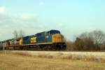 G191 northbound grain train at Memphis Jct. Road
