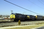 CSX S235 on the siding near SE Morgantown