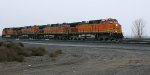 BNSF 4040 and a light power set