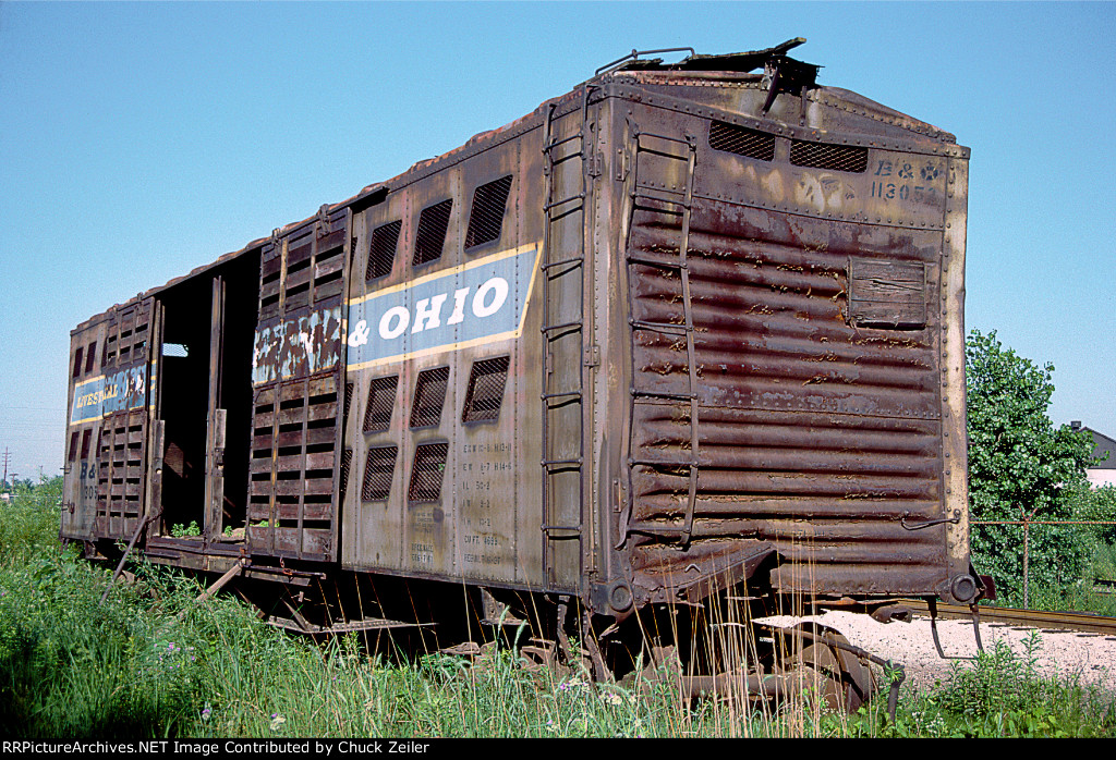 B&O Stock Car 113052