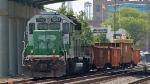 NS work train CEFX 7092
