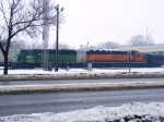 BNSF 1653 and BNSF 7951