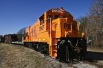 Pickens Railway 9507 idles