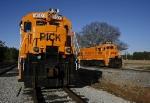 Pickens Railway 9503 & 9504