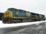 CSXT GE AC4400CW's 568 & 5103