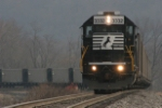NS 3332 heads to Century