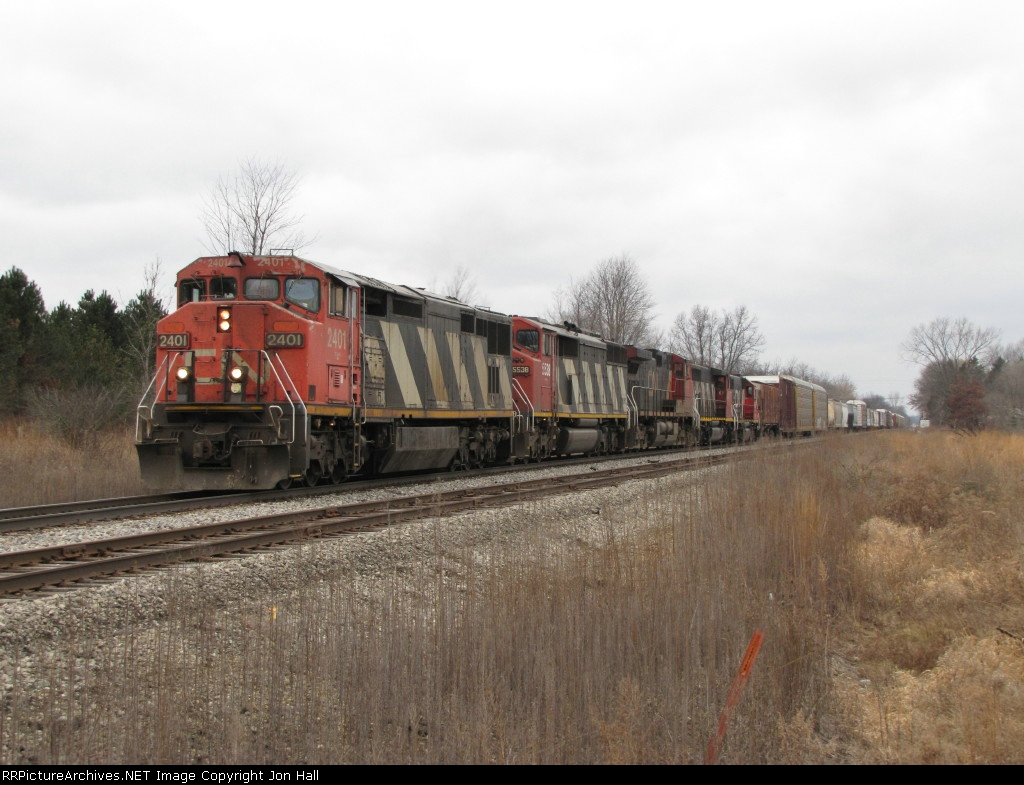 5 engines lead A490 south down the Holly Sub