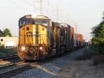 CSX 8735 & 5332 roll through the morning shadows with Q392-30