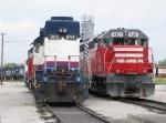 LSRC 805 & 4301 sit side by side