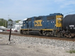CSX 2517 next the line between the Ledge and Field Blocks