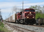 CP 8559 & 6055 leads X500-16 east with 18 cars