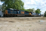 CSX 8777, 5937, and 7358 (old blue)