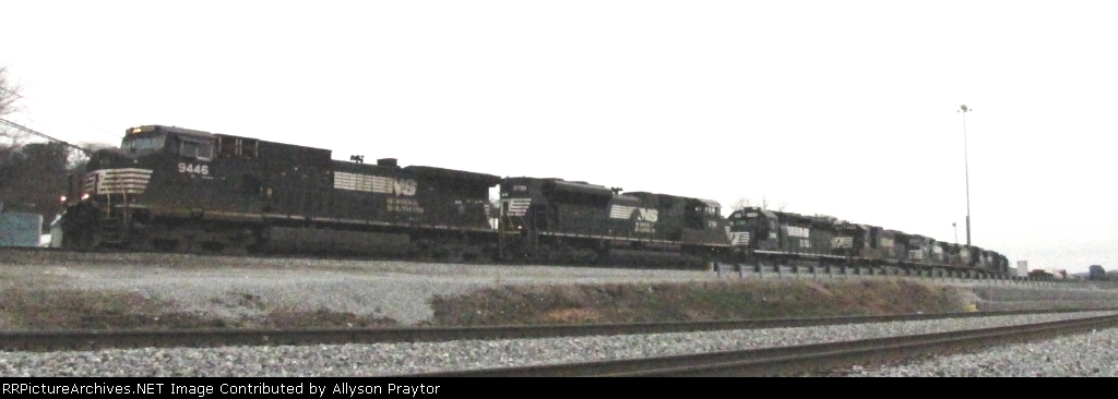 Engines leaving Irondale