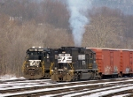 NS 6108 puts on a show for the folks at the EPA