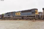 CSXT SD80AC 812