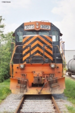 WE 3073 Parked on CSX