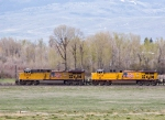 UP 5683 & UP 5634