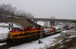 KCS 4034 and the Christmas Train