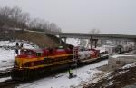 KCS 4034 and the Christmas Train