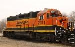 BNSF 2011 w/High Clearance Fuel Tank
