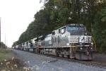 """NS 13G northbound train sit around near at """"ALLEY"""" MP 61.0"""